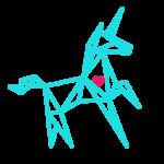 unicorn with heart