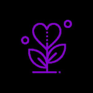 heart plant icon